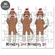 Monkey See Monkey Do Puzzle