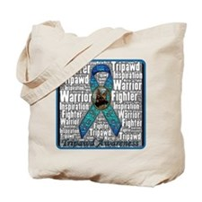Personalized Tripawds Tote Bag