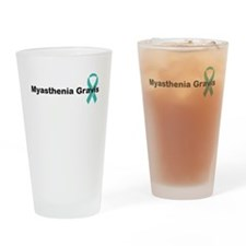 Myasthenia Gravis Awareness Drinking Glass