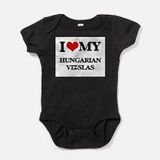 I love my Hungarian Vizslas Body Suit