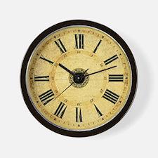 Vintage steampunk wall clock
