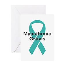 Myasthenia Gravis Awareness Greeting Card