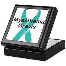 Myasthenia Gravis Awareness Keepsake Box