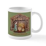 Christmas Blessings, Little Creche Mug