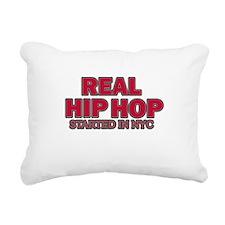 RealHipHop Rectangular Canvas Pillow