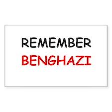 Remember Benghazi Decal