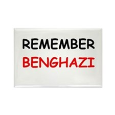 Remember Benghazi Rectangle Magnet