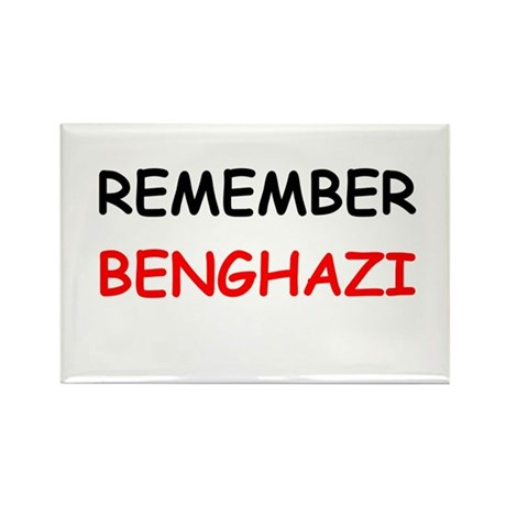 Remember Benghazi Rectangle Magnet