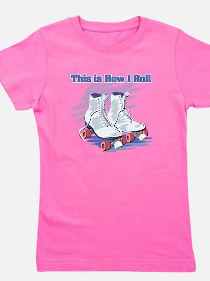 roller skates.png Girl's Tee