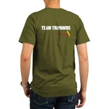 Personalized Tripawds T-Shirt