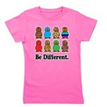 Be Different Ducks.png Girl's Tee