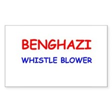 Benghazi Whistle Blower Decal