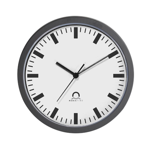 Swiss railway wall clock by scifinow - Swiss railway wall clock ...