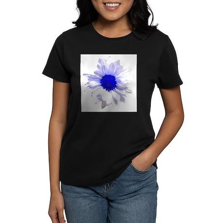 Daisy/Flowers/Pop Art Women's Dark T-Shirt
