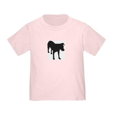 Bo Sillhouette Toddler T-Shirt