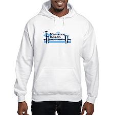 Sanibel Island - Varsity Design. Hoodie Sweatshirt