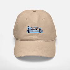 Sanibel Island - Varsity Design. Baseball Baseball Cap