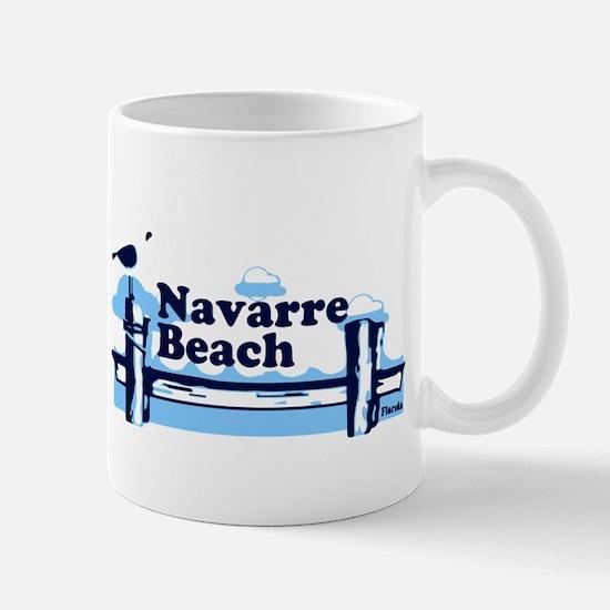 Sanibel Island - Varsity Design. Mug