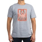 Hope Butterfly Uterine Cancer Men's Fitted T-Shirt