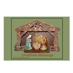 Christmas Blessings, Little Creche Postcards (Pack