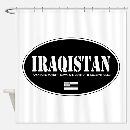 Iraqistan Shower Curtain