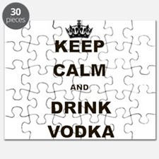 KEEP CALM AND DRINK VODKA Puzzle