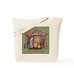 Christmas Blessings, Little Creche Tote Bag