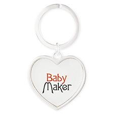 Baby Maker Heart Keychain