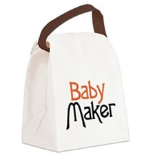 Baby Maker Canvas Lunch Bag