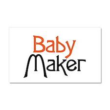 Baby Maker Car Magnet 20 x 12