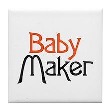 Baby Maker Tile Coaster