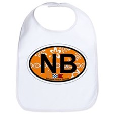 Navarre Beach - Oval Design Bib