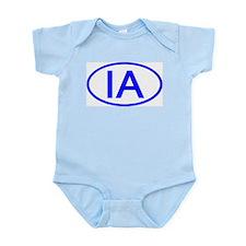 IA Oval - Iowa Infant Bodysuit
