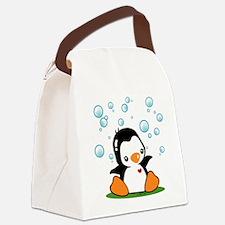 Penguin (A) Canvas Lunch Bag