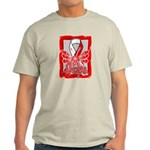 Hope Butterfly Oral Cancer Light T-Shirt