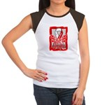 Hope Butterfly Oral Cancer Women's Cap Sleeve T-Sh