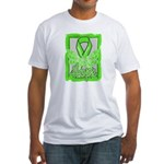 Butterfly Non-Hodgkins Lymphoma Fitted T-Shirt