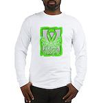 Butterfly Non-Hodgkins Lymphoma Long Sleeve T-Shir