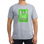 Butterfly Non-Hodgkins Lymphoma Men's Fitted T-Shi