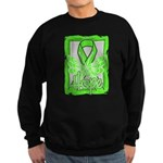 Butterfly Non-Hodgkins Lymphoma Sweatshirt (dark)