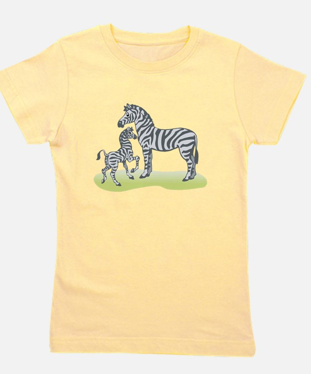 mommy and baby zebra.png Girl's Tee