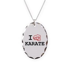 I love Karate Necklace
