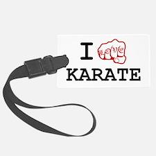 I love Karate Luggage Tag