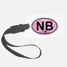 Navarre Beach - Oval Design Luggage Tag