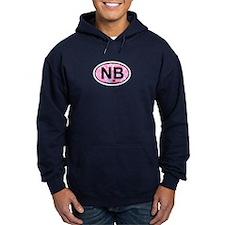 Navarre Beach - Oval Design Hoodie