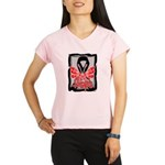 Hope Butterfly Melanoma Performance Dry T-Shirt