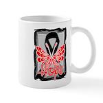 Hope Butterfly Melanoma Mug