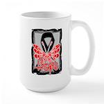 Hope Butterfly Melanoma Large Mug