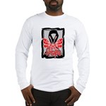 Hope Butterfly Melanoma Long Sleeve T-Shirt