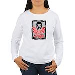 Hope Butterfly Melanoma Women's Long Sleeve T-Shir